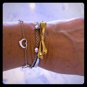 Kate Spade Bow Hinged Bracelet